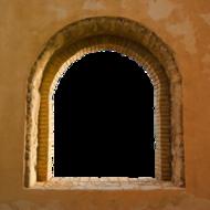 752-Eigen doorkijk Toscaans venster