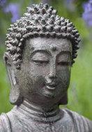 Boeddha trop. tuin