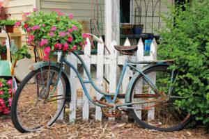 95x130 cm Vintage fiets
