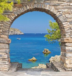 h100xb95 cm Kroatië Grieks venster