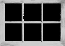 746-Eigen doorkijk raam wit horizontaal