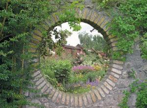 95x130 cm Geheime tuin: kasteeltuin