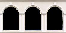 758-Eigen doorkijk pilaren