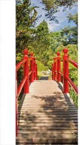 deurposters met brug