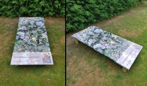 grafbedekking schuttingposter.nl Kaatsheuvel
