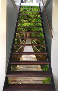 trapbekleding hangbrug