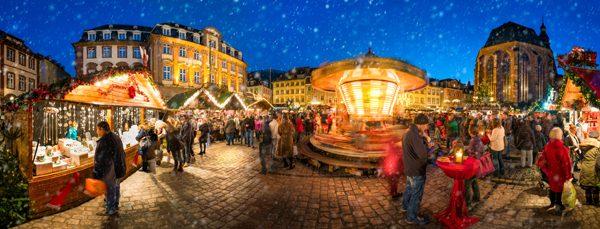 kerstdoek kerstdorp kerstmarkt