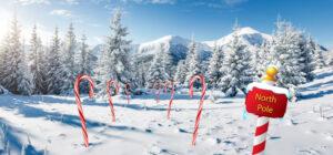 Winterlandschap Noordpool Sugar & Spice Candy Cane