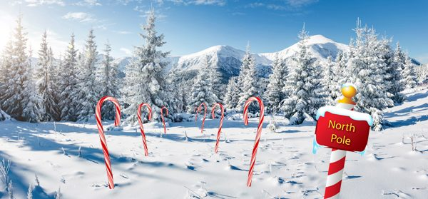 kerstdorp Candy canes Noordpool winterlandschap Sugar & Spice