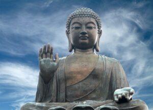 Boeddha wolkenlucht