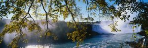 Waterval doorzicht