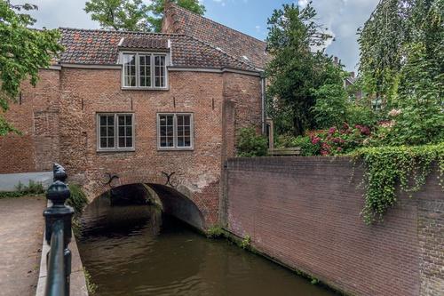 tuinposter met doorkijk Dieze 's-Hertogenbosch