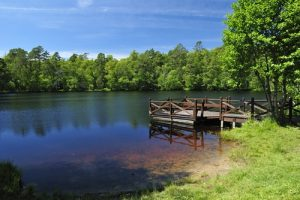 Steiger in meer