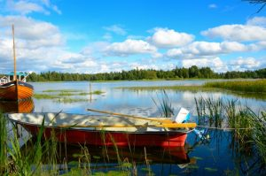 Boot in meer