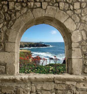 Spaans venster bloemenbaai