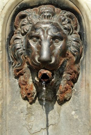 Italiaanse fontein