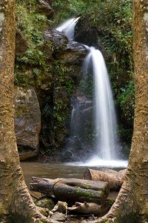 Waterval doorkijk