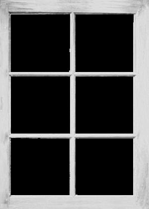 747wh-Eigen doorkijk raam wit verticaal