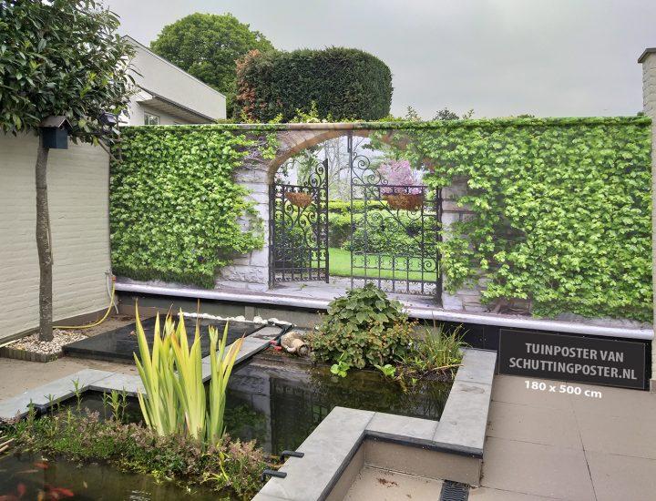 Mega tuinposter 180×500 cm