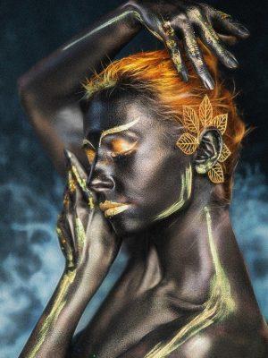 (Rekenvoorbeeld) Body paint vrouw