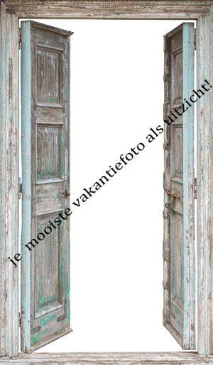 767-Eigen doorkijk openslaande houten deuren