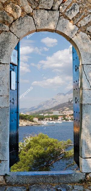 Tuinposter Palamidi Dalmatië 200x95 cm