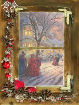 kerst poster Victorianstreet