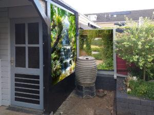 3 tuinposters: zie omschrijving