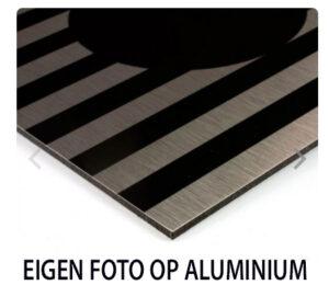eigen foto op aluminium