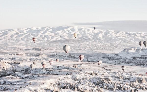 ballonnen boven cappadocia