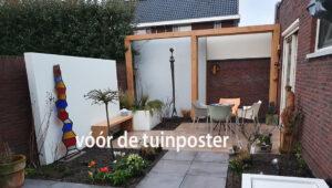 eigen tuinfoto voor voorbeeld