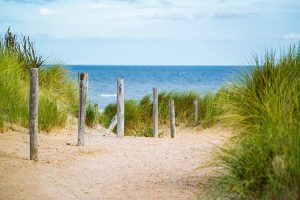 Strand overgang