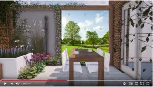 tuinvoorbeeld tuinposter golfbaan